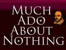 Much ado about nothing love essay